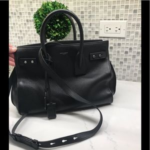 SAINT LAURENT Small Sac de Jour Grained Leather To